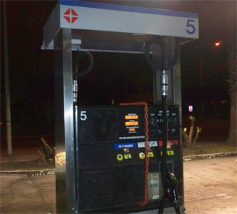 Arco introduces new thug-proof gas pump stations in the hood