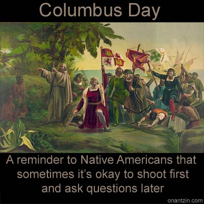 christopher columbus and native americans Biography: christopher columbus is the explorer who is credited for discovering america of course, there were already people living in america at the time who we call native americans.