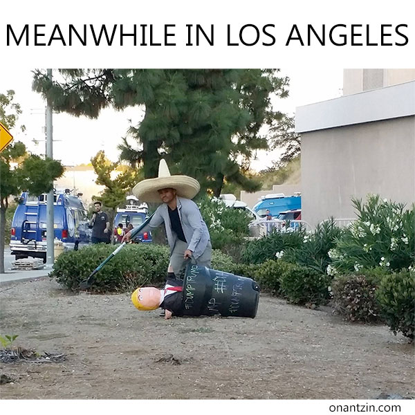 Meanwhile in Los Angeles