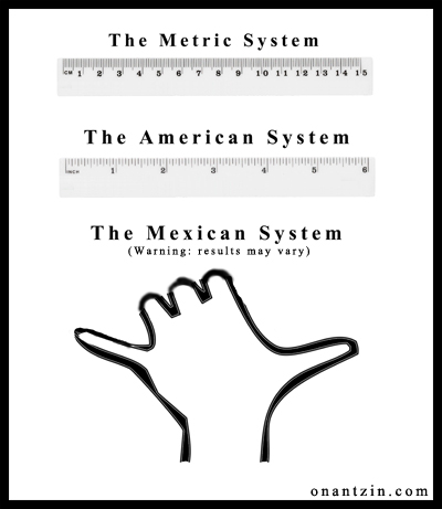 Meme - Mexican Metric System