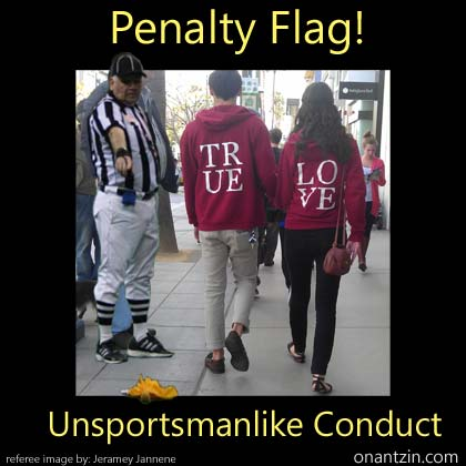 Meme - Penalty Flag!